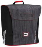 Simpla geanta bicicleta negru-rosu