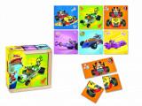 Mickey și piloții de curse- Puzzle in cu
