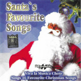 CD Viva La Musica Choir ‎– Santa's Favourite Songs, original