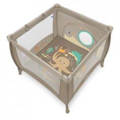 Baby Design Play UP 09 Beige 2018 - Tarc de joaca cu inele ajutatoare