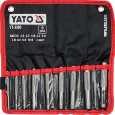 Set 9 preducele 2.5-10 mm YATO