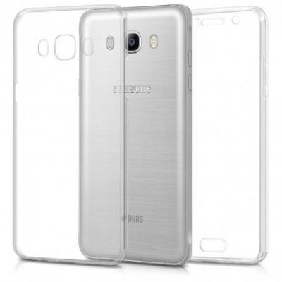Husa Invizible 360 de grade (fata-spate) pentru Samsung Galaxy J7 2016 ,Silicon foto