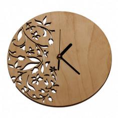 Ceas de Perete cu Model Floral Modern
