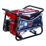 Generator pe benzina Raider RD-GG06, 2.8 kW, 208 CC, motor 4 timpi, rezervor 15 l, 3 iesiri