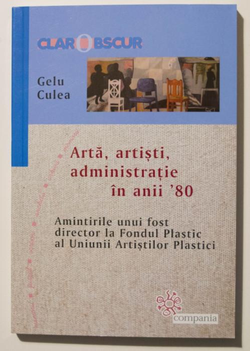 Gelu Culea - Artă, artiști, administrație în anii `80. Amintirile unui fost...