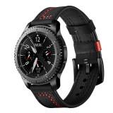 Curea de piele 22mm ceas Samsung Galaxy Watch 46mm Gear S3 Huawei Watch GT