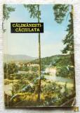 """Lot carte si pliant turistic Calimanesti-Caciulata.ONT """"Carpati"""" 1963."""