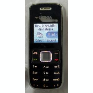 Nokia 1209 (cu baterie, fara incarcator) functioneaza pe Vodafone