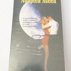 Caseta video VHS originala film tradus Ro - Noaptea Aceea