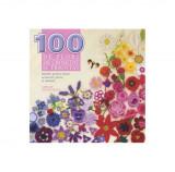 100 de flori de croşetat şi tricotat