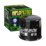 Filtru Ulei HF138 Negru Hiflofiltro Aprilia , Kawasaki , Arctic Cat, Kymco, Suzu Cod Produs: MX_NEW HF138
