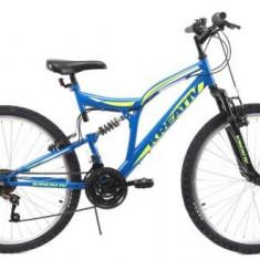 Bicicleta MTB Kreativ 2643, 18inch (Albastru)