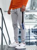 Pantaloni de trening bărbați gri Bolf AM60