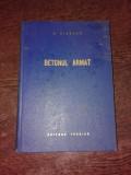 BETON ARMAT - V. NICOLAU