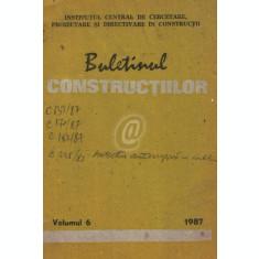 Buletinul constructiilor, vol. 6 (1987)
