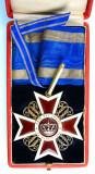 Ordinul / Decoratia Coroana Romaniei, Comandor, la cutie