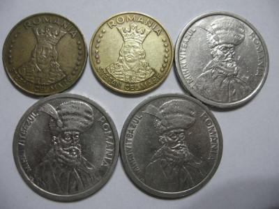 Romania (71) - 20 Lei 1992, 1993, 100 Lei 1992, 1993, 1994 foto