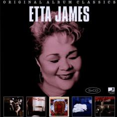 Etta James Original Album Classics (5cd)