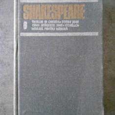 SHAKESPEARE - OPERE volumul 6 (1987, editie cartonata)