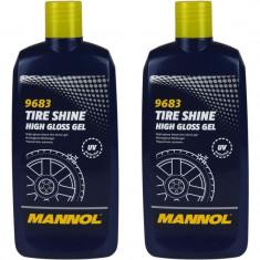 Pachet 2 Buc Mannol Gel Luciu Anvelope Tire Shine 500ML 9683
