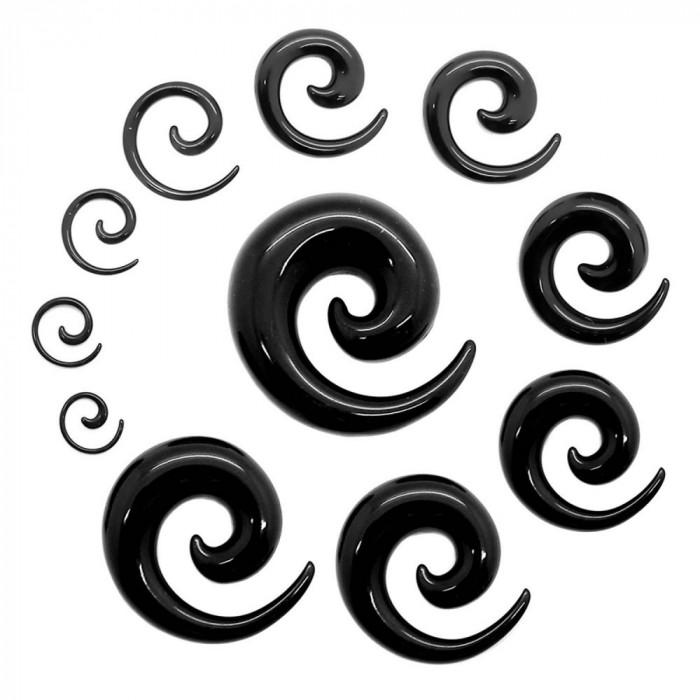 Expander spirala 1-10 mm - model spirala - set 9 buc