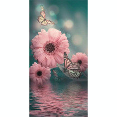 Husa Personalizata HUAWEI Y6p Pink Flowers