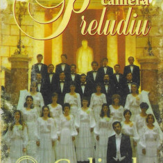 Caseta Corul de Cameră Preludiu – Colinde (Christmas Carols), originala