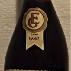 A27- VIN grignolino del piemonte, galeasso, DOC, recoltare 1980 cl 75 gr 11,5