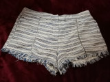 Pantaloni scurti h&m, Alb, 40