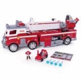 Masina de pompieri cu scara extensibila si Marshall Paw Patrol Ultimate Rescue Salvarea suprema