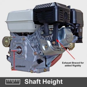 Motor motosapa / motopompa / motocultor 7 CP (Cu pornire din cheie!)