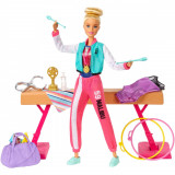 Set de joaca Barbie, Gimnasta GJM72