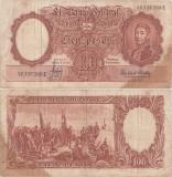 1957, 100 pesos (P-272c.5) - Argentina!