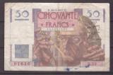 Franta 1947(20-3) - 50 francs, uzata