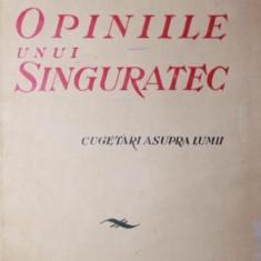 OPINIILE UNUI SINGURATEC - GR . TAUSAN