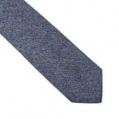 Cravata gri lata lana Capote