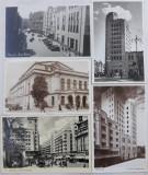 5 CARTI POSTALE PIATA TEATRULUI NATIONAL VECHI BUCURESTI (INTERBELIC)