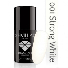 Oja Semipermanenta Semilac 001 Strong White, Semilac Paris