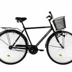 Bicicleta Oras Kreativ 2811 Negru Alb M 28 inch