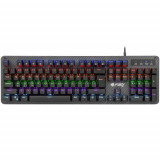Tastatura Gaming Fury Tornado RGB USB Black