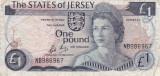 JERSEY 1 POUND ND (1976-88) F