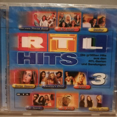 RTL Hits 3 - Selectii - 2CD - (2001/Universal/Germany) - CD ORIGINAL/Sigilat/Nou, universal records