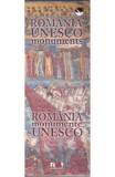 Mini album Romania monumente UNESCO romana - engleza