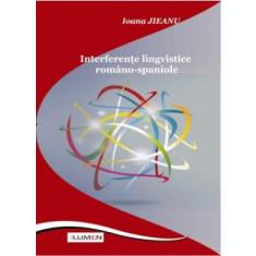 Interferente lingvistice romano-spaniole - Ioana JIEANU