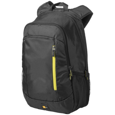 Rucsac Laptop, Case Logic by AleXer, JT, 15.6 inch, 400D nylon, antracit, breloc inclus din piele ecologica si metal foto