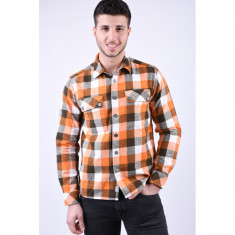 Camasa Carouri Only&Sons Dilon Overshirt Harvest Pumpkin
