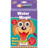Carte de colorat cu apa - Water Magic - Ghici cine-i acolo?