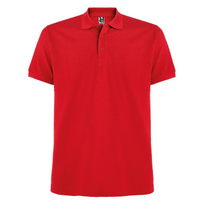 Tricou polo bartati Estrella Men Polo Shirt red PO6615RED foto