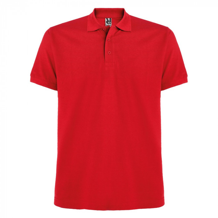 Tricou polo bartati Estrella Men Polo Shirt red PO6615RED