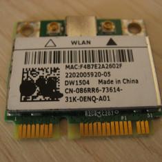 Placa wireless laptop Dell Latitude E6340, DW1504, 086RR6, BCM94313HMG2L